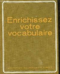 Enrichissez Votre Vocabulaire