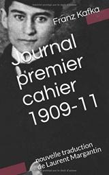 Journal, premier cahier 1909-11