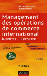 Management des opérations de commerce international : Importer-Exporter