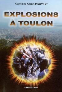 Explosions à Toulon