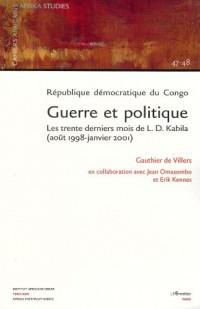 Republique (47-48) Democratique du Congo Guerre et Pol