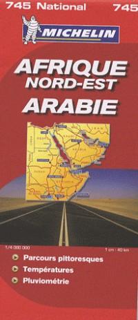 Afrique Nord-est Arabie : 1/4 000 000