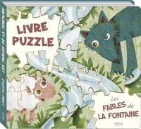 Les fables de la Fontaine (livre puzzle)