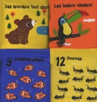 La ronde des animaux : 4 livres-tissu