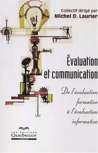 L'évaluation des apprentissages