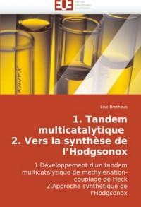1. Tandem Multicatalytique 2. Vers La Synthse de L'Hodgsonox