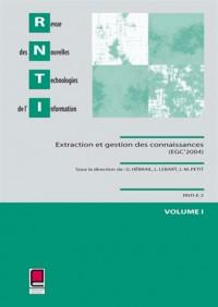 RNTI, extraction et gestion des connaissances (2 volumes)