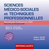 Dvd élève sciences médico sociales et tech prof 2de prof Bac Pro assp
