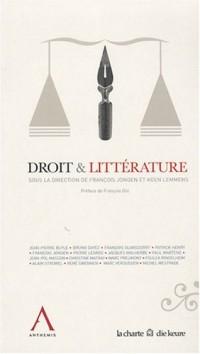 Droit et littérature