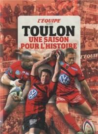 L'EQUIPE RACONTE TOULON, UNE SAISON POUR L'HISTOIRE