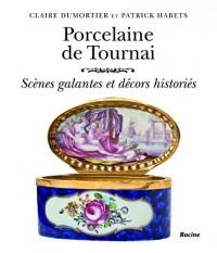 Porcelaine de Tournai. Scène galantes et décors historiés