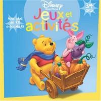 Jeux et activités avec Winnie l'Ourson : 3/4 Ans