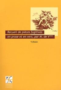 Recueil de Pieces Fugitives en Prose et en Vers par M V 1739