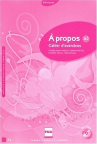 A propos A2 : Cahier d'exercices (1CD audio)