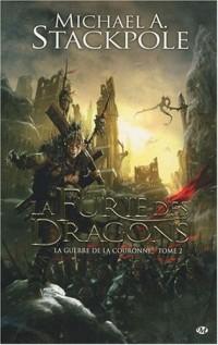 La Guerre de la Couronne, tome 2 : La Furie des dragons