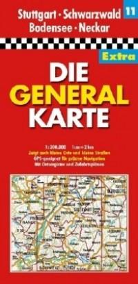 All.11 Stuttgart/Schwarzwald/Bodensee  1/200.000