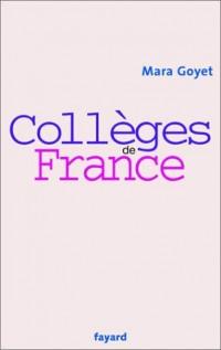 Collèges de France