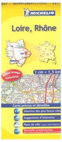 Carte DPARTEMENTS Loire, Rhne