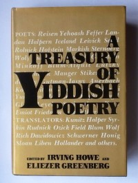 A treasury of Yiddish poetry
