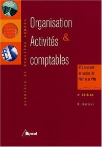 Organisation et activités comptables BTS assistant de gestion de PME et de PMI 1e et 2e année