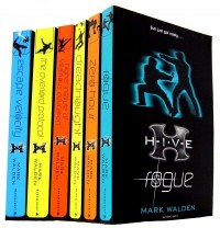 Mark Walden 7 Books Collection Set (H.I.V.E Series) (Aftershock, Rogue, Highe...