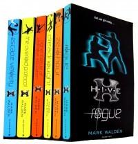 Mark Walden 7 Books Collection Set (H.I.V.E Series) (Aftershock, Rogue, Highe...