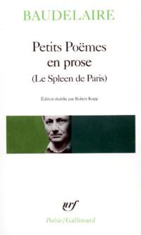 Petits poëmes en prose - Le Spleen de Paris