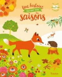 Une histoire qui sent bon les saisons - Livre à odeurs