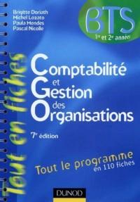 Comptabilité et gestion des organisations -7e édition - Tout le programme en 110 fiches