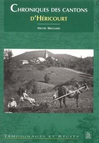 Chroniques des cantons d'Héricourt