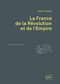 La France de la Révolution et de l'Empire