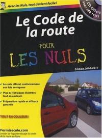 Le Code de la route pour les nuls : 1 CD offert