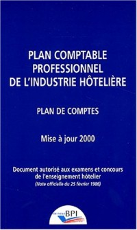 Plan comptable hotelier