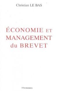 Economie et management du brevet