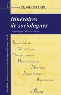 Itinéraires de sociologues : Histoires de vie et choix théoriques en sciences sociales