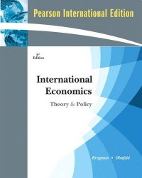 International Economics:Theory and Policy:International Version Plus MyEconLab Student Access Code
