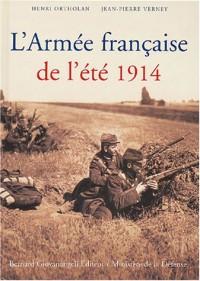 L'Armée française de l'été 1914