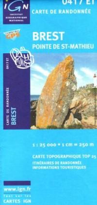 Brest / Pointe St-Mathieu GPS: Ign.0417et
