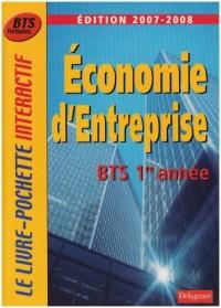 Economie d'entreprise BTS tertiaires 1e année