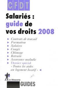 Salariés : guide de vos droits