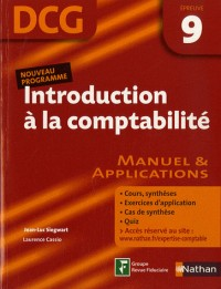 Introduction à la comptabilite Epreuve 9 - DCG - Manuel et applications