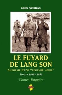 Le fuyard de Lang Son : Autopsie d'une