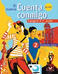 El Nuevo Cuenta Conmigo Espagnol 1re Annee - 2 Cassettes Classe, ed. 2007