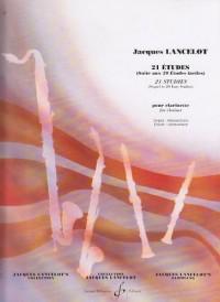 21 Etudes (suite aux 21 études faciles) pour clarinette