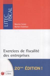 Exercices de fiscalité des entreprises