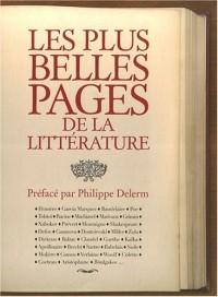 Les plus belles pages de la littérature