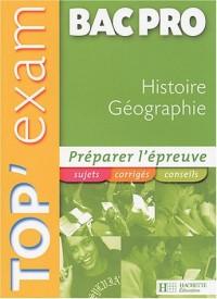 Histoire Géographie Bac pro