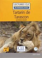 Tartarin de Tarascon - Niveau 1 - Lecture CLE en français facile - Livre + CD - 2ème édition [Poche]