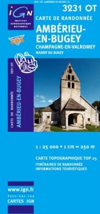 Amberieu-en-Bugey / Champagne-en-Valromey GPS: Ign.3231ot