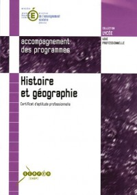 Histoire et géographie CAP